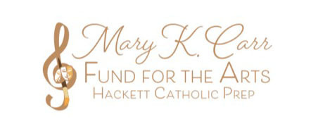 Hackett Catholic Prep Kalamazoo Private School CSGK Mary K Carr Scholarship Button